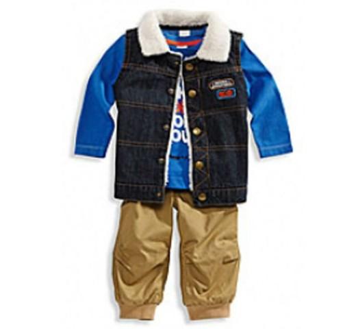 Комплект - штаны, лонгслив, жакет C&A