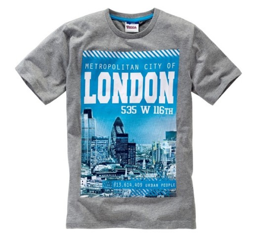 "Футболка серая ""London"" Yigga"