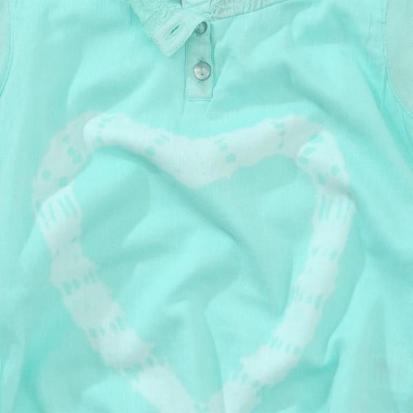 Блузка с сердечками