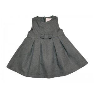 Платье серое с бантиком Zippy