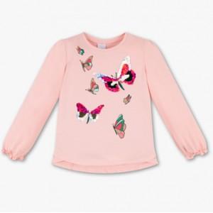 Кофта розовая бабочками C&A