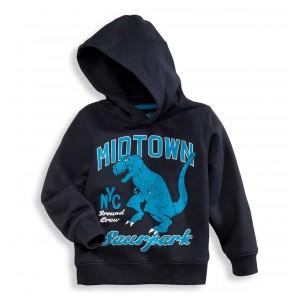 Толстовка темно-синяя с динозавром C&A