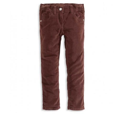 Штаны вельветовые шоколадного цвета