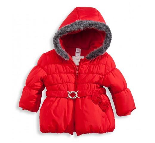 Куртка красная на пояске C&A