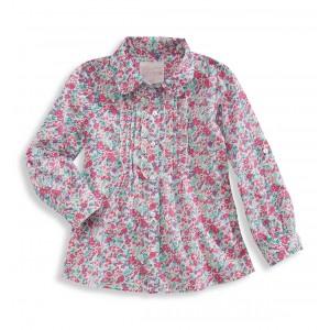 Блуза в разноцветный цветочек C&A