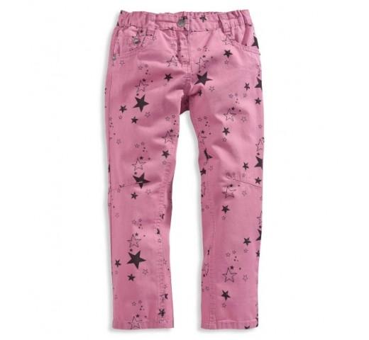 Штаны розовые со звездочками C&A