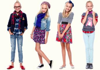 Картинки с модными девочками до двенадцати лет